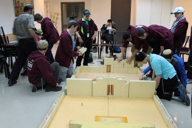 Beit Midrash Mikdash Building the Model