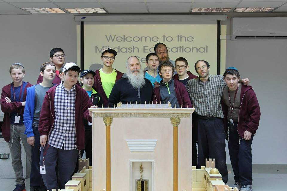 Building the Model at the Beit Midrash Mikdash (2)